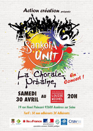 Concert du Sankofa Unit !!! Ça va envoyer du louuurd !!!