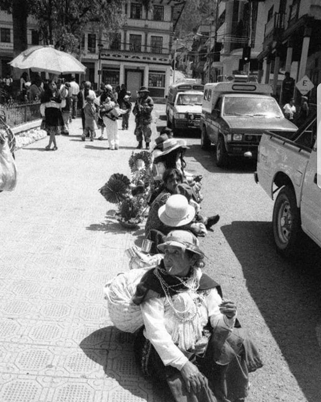 _Descanso en Biblián_ Enero 2010 ~ cada año, la procesión de nuestro pueblo Cochahauyco a El Santuar