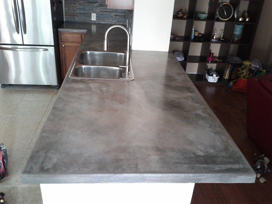 High Gloss Concrete Countertop Sealer Bstcountertops