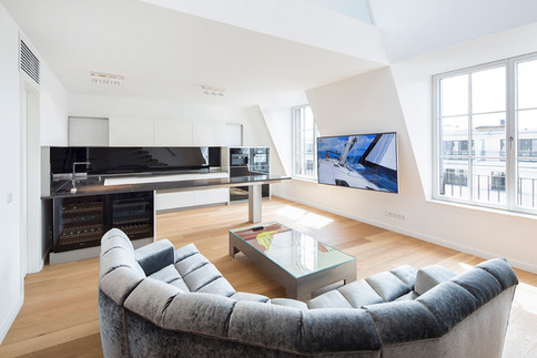 Immobilienfoto Penthouse Apartment Wohnung in Berlin