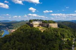Luftaufnahme Burg