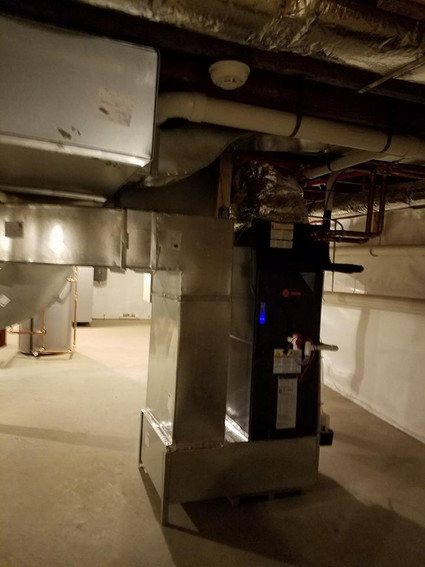 Duct, Air Handler & Boiler Winterizing Install