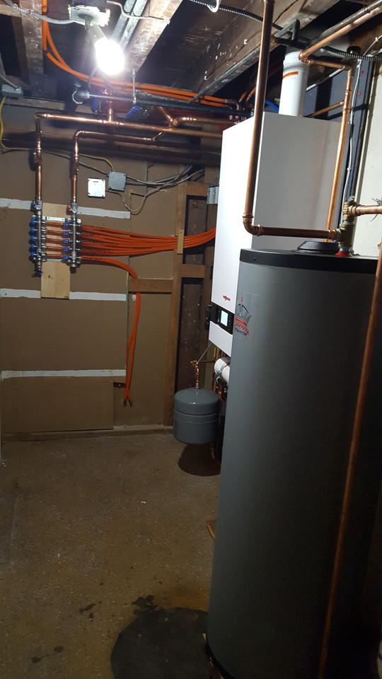 Viessmann Boiler Install