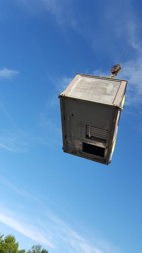 Crane Lifted RTU
