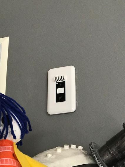 Switch for Daikin Install