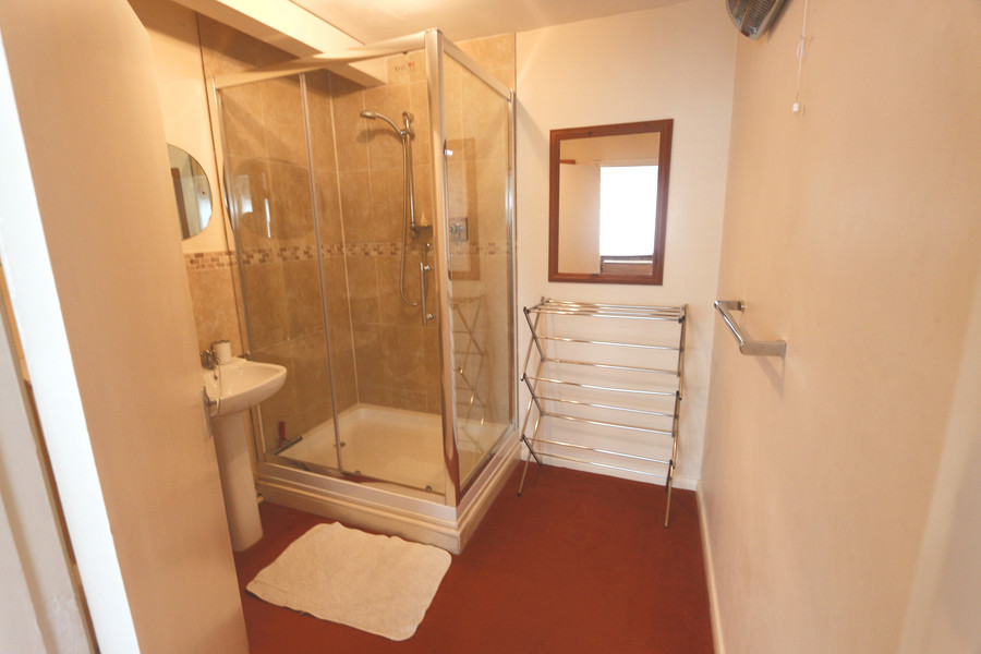 Large Downstairs Shower