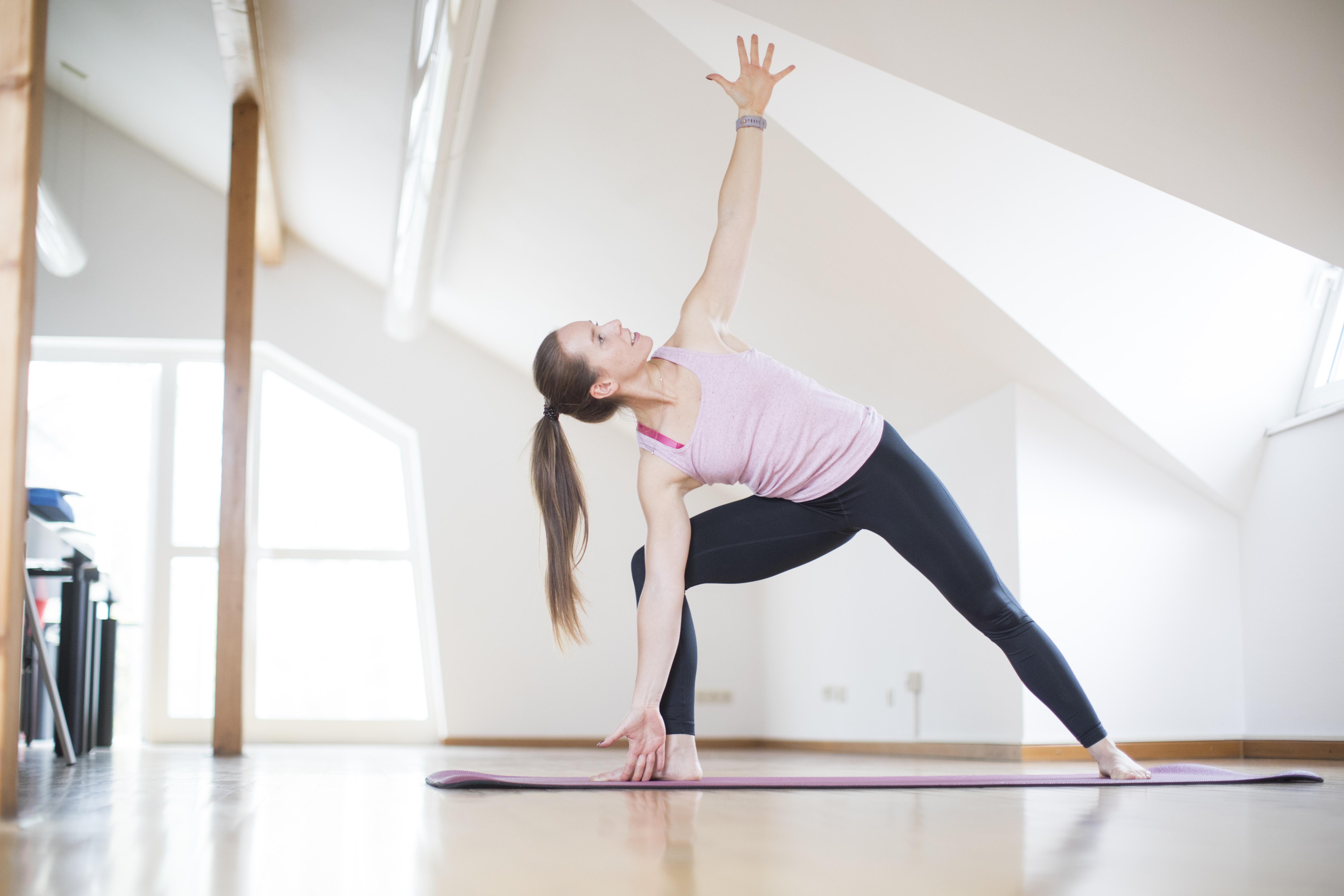 Pilates mit Jennifer Brechtel