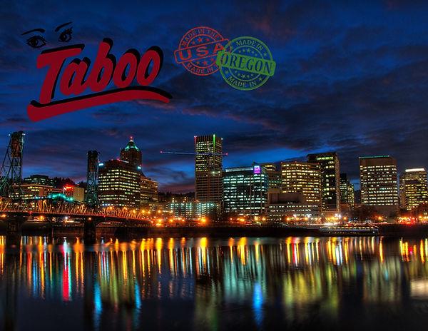 Taboo Portland, PDX Landscape