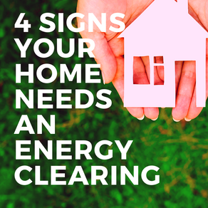 4 Signs Your Home Needs an Energy Clearing