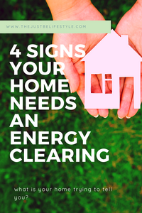4 signs your home needs an energy clearing blog image