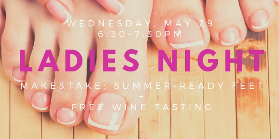 Ladies Night: Make & Take + Free Wine Tasting