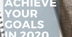 Achieve Your Goals in 2020