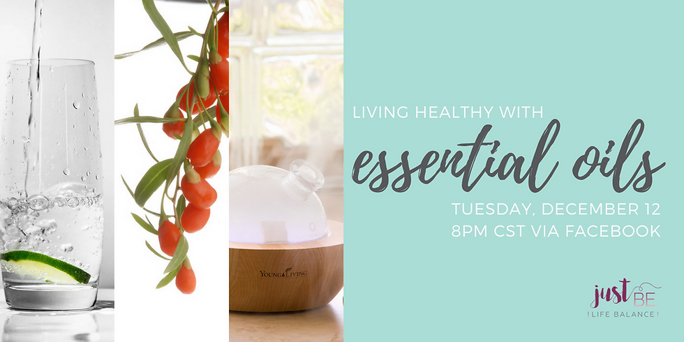 Living Healthy with Essential Oils