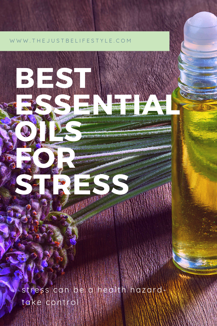 best essential oils for stress blog image