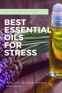 best essential oils for stress blog image