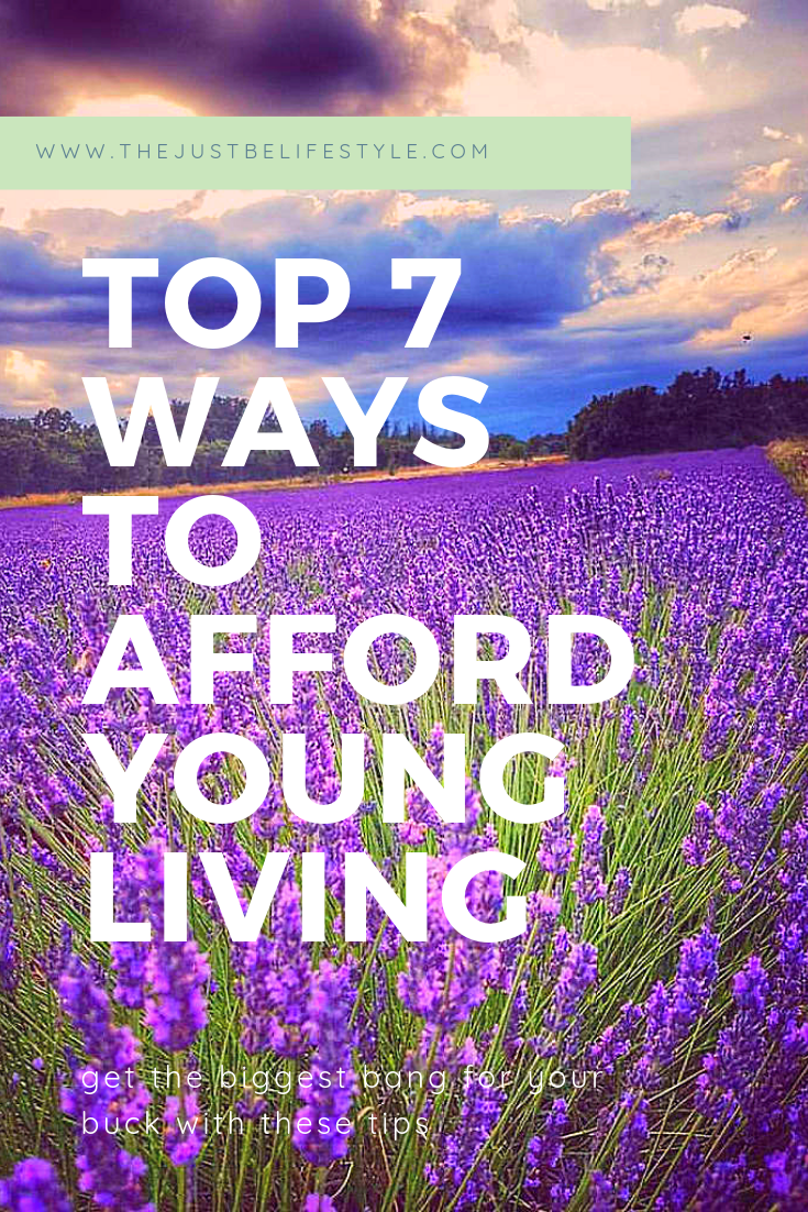 top 7 ways to afford young living blog image