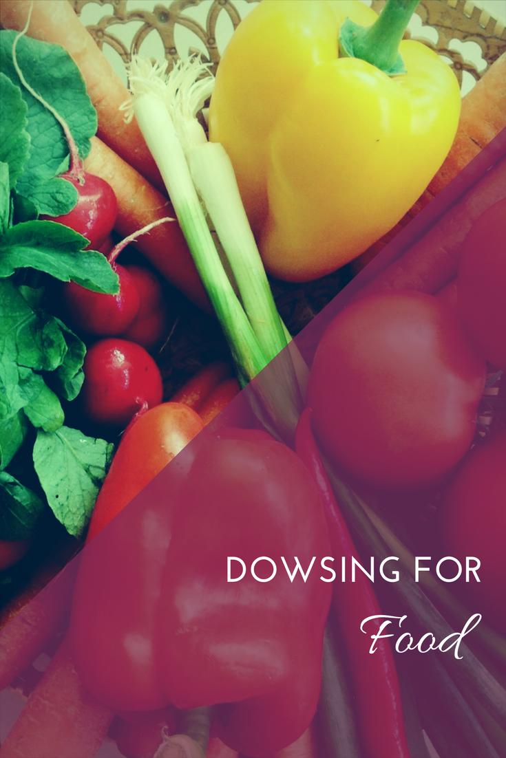 dowsing for food image
