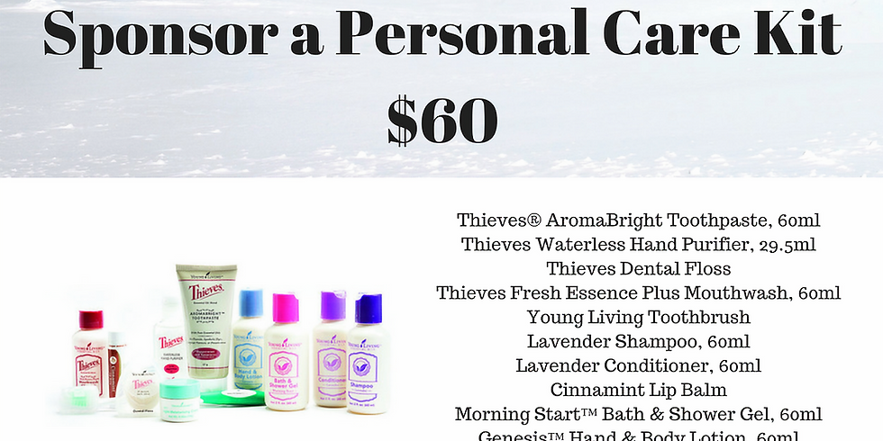 Sponsor a Personal Care Kit