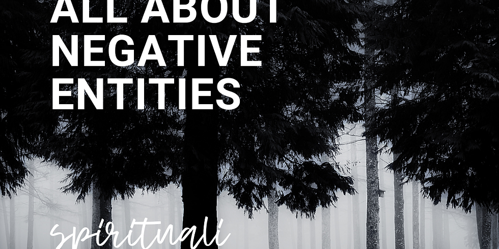 All About Negative Entities
