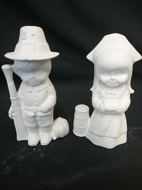 Small pilgram couple