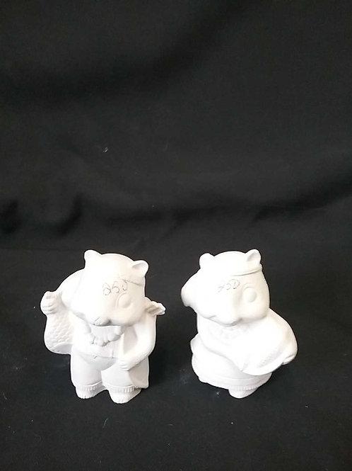 Squirrel couple