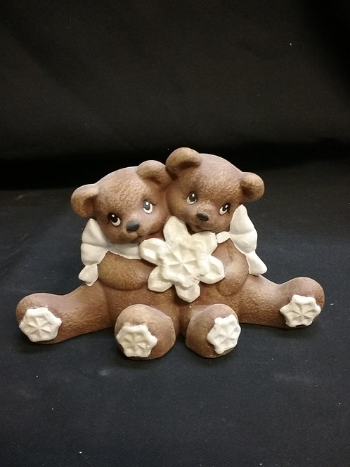 Sm cuddle bears with snowflake