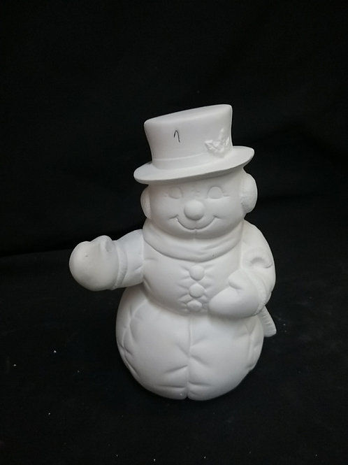 Snowman with arm out