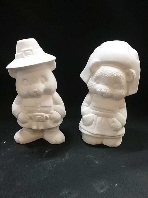 Pilgram bear couple