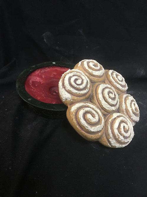 Cinnamon roll jar