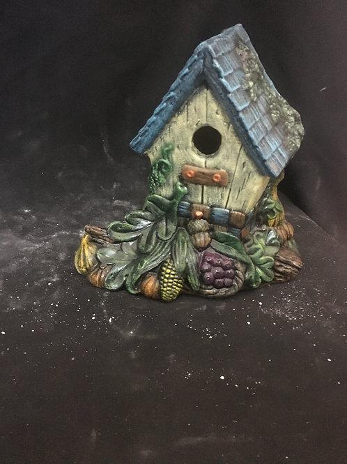 Vegetable birdhouse