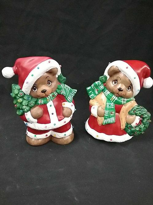 Christmas bears set