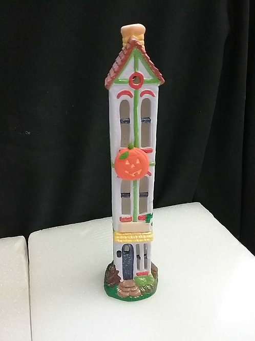 Tall skinny haunted house