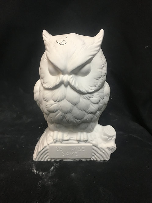 Be wise bank owl