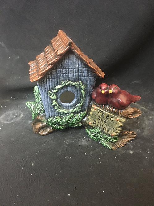Feed the birds birdhouse