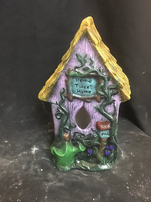 Home sweet home birdhouse