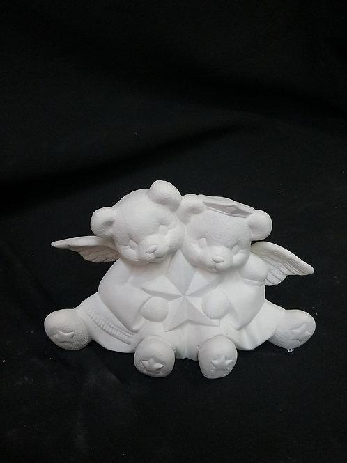 Angel bears with star