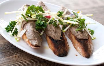 chiken liver paté