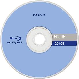 Blu-Ray de 200 GB