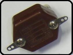 Capacitor castanha (de mica)