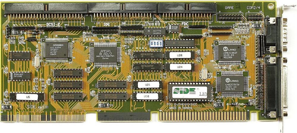 Placa VLB Super I/O