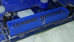 Conector IDE numa placa-mãe
