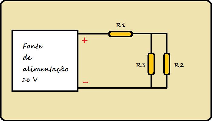 Resistores em série e paralelo