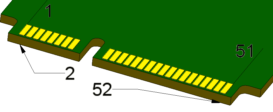 Conector miniPCIe