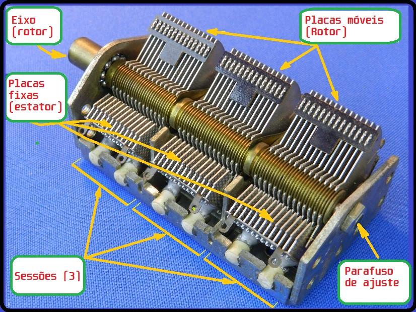 Desvendando um capacitor variável