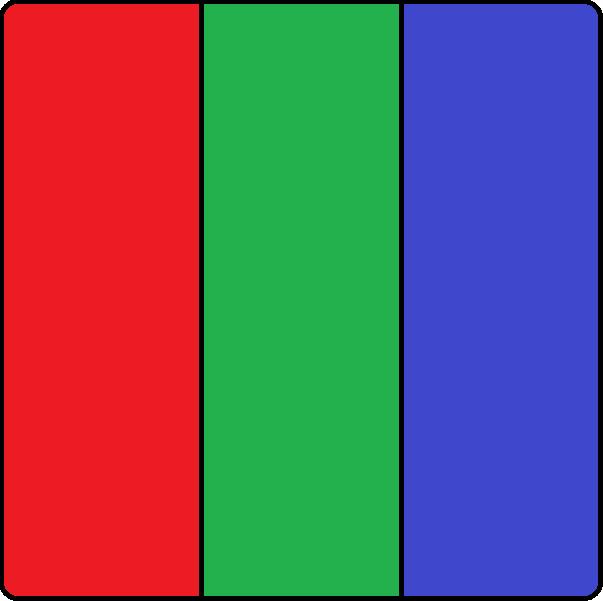 Filtro RGB padrão