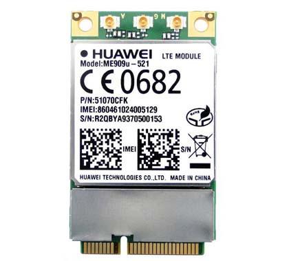 Módulo LTE miniPCIe da marca Huawei