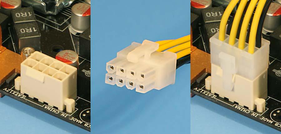Conector EPS 12 V Duplo