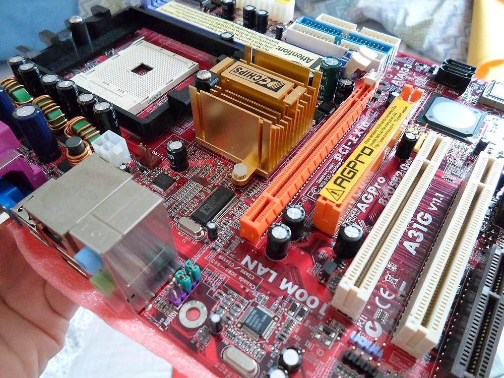 Placa-mãe PC Chips A31G