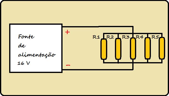 Resistores em paralelo