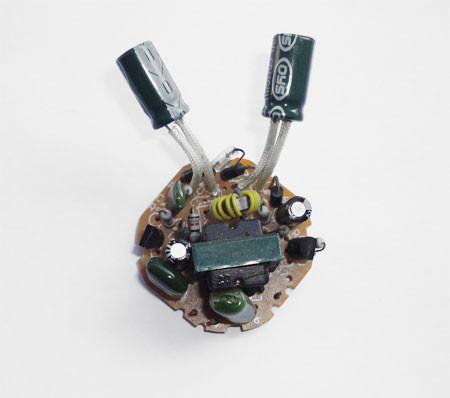 Circuito de uma Lâmpada fluorescente compacta